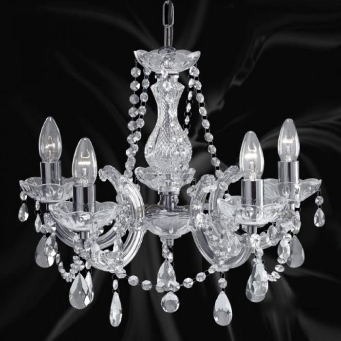 Marie Therese полилей  хр/кристал 5x60W E14