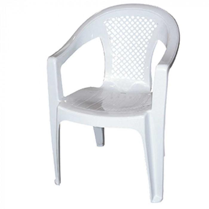 Градински PVC стол Promo бял