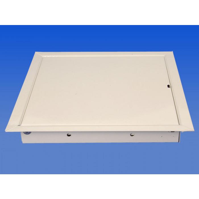 Метална ревизия / вратичка без ключ RLM 4050 430x25x430мм