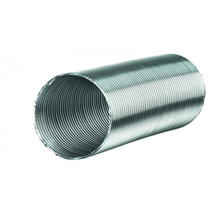 Гъвкав алуминиев въздуховод Aluvent M ø120/1m