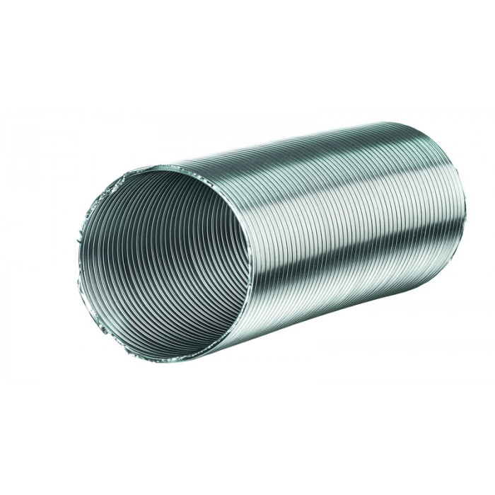 Алуминиев въздуховод ø120/3м