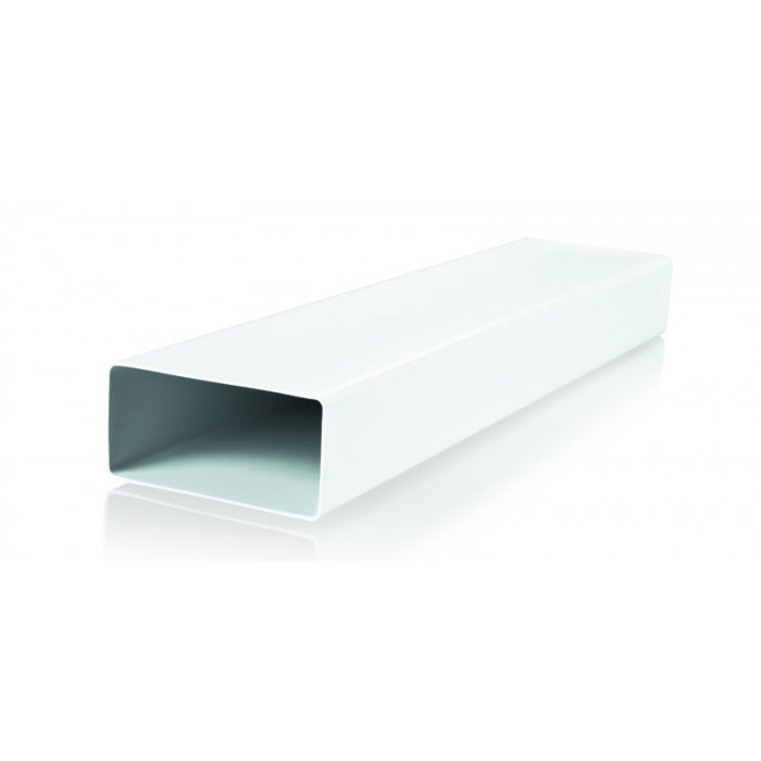 PVC въздуховод 8010 плосък 60х204/1м