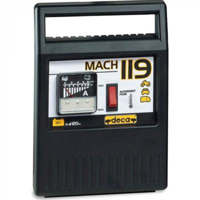 Зарядно за акумулатор  12V-9a 10-120AH 230V deca