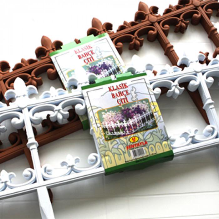 Ограда декоративна sa (4991)-4x61см бяла