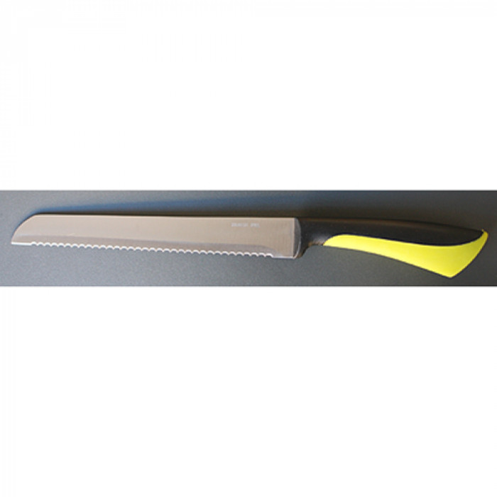 Нож за хляб 20см ps-dh830268 black orange