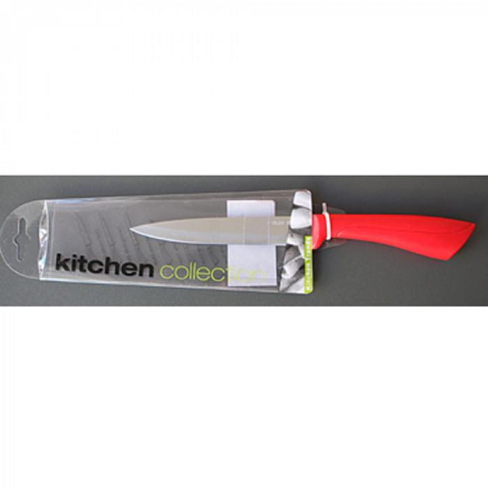 Нож за плодове 9см ps-dh830668 black red