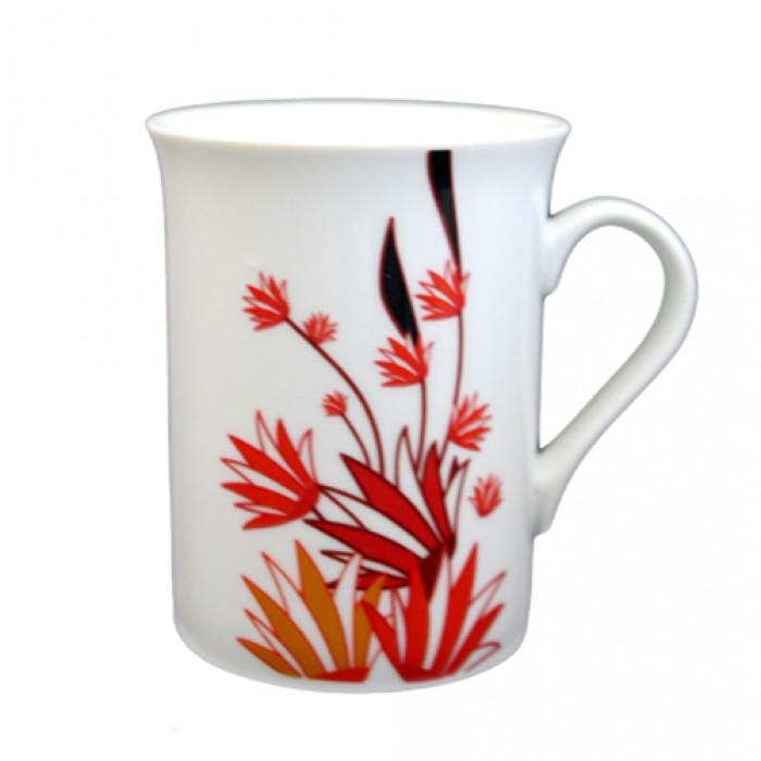 Чаша порцелан с декор 9oz (7104)