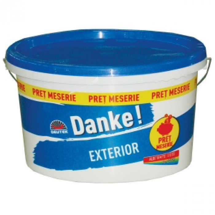 Латекс Danke Exterior The Best Deal Fassade New 8.5л