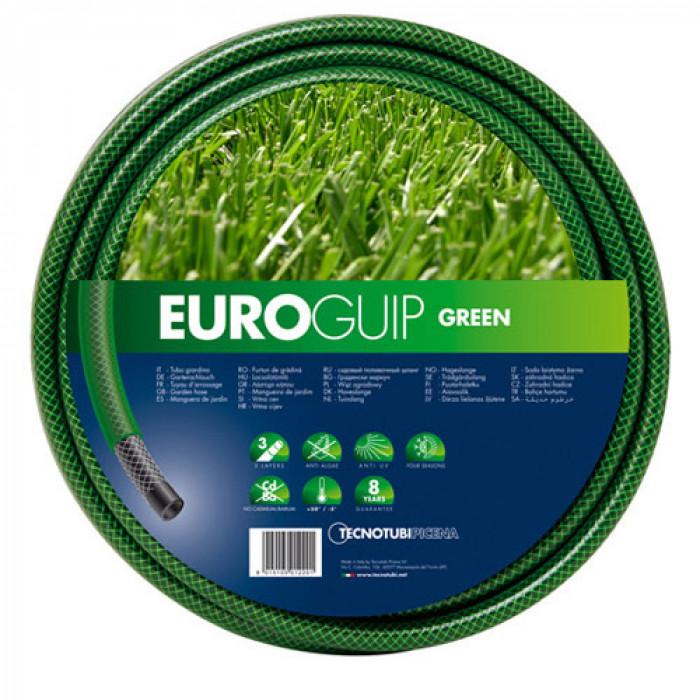 Градински трислоен маркуч Euro guip 25мм 1`` 50м