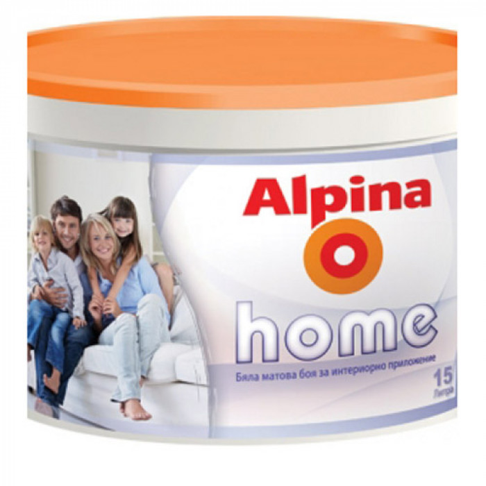 Латекс миещ Alpina home 9 л / Alpina home 9 lt
