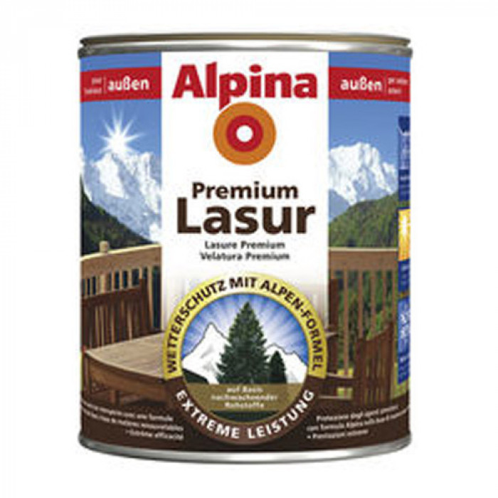 Лазурен лак за дърво премиум - махагон 0.750 л / Ap premium holzlasur mahagoni 750 ml