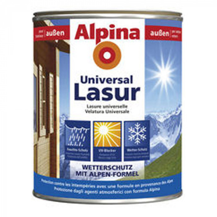 Лазурен лак за дърво премиум - безцветен 0.750 л / Ap premium holzlasur farblos 750 ml