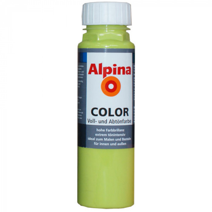Оцветители за ръчно тониране Alpina color power green