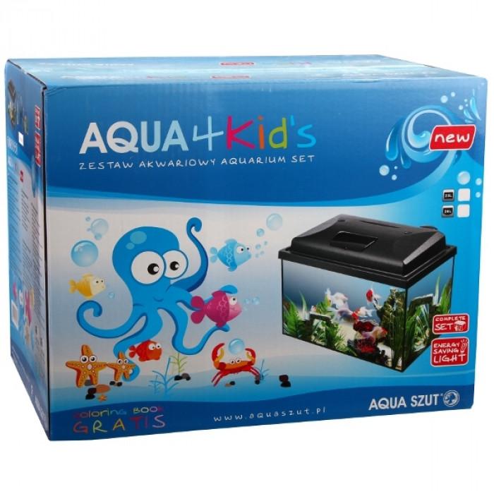 Аквариум Aqua 4 kids 40 овален 20 литра