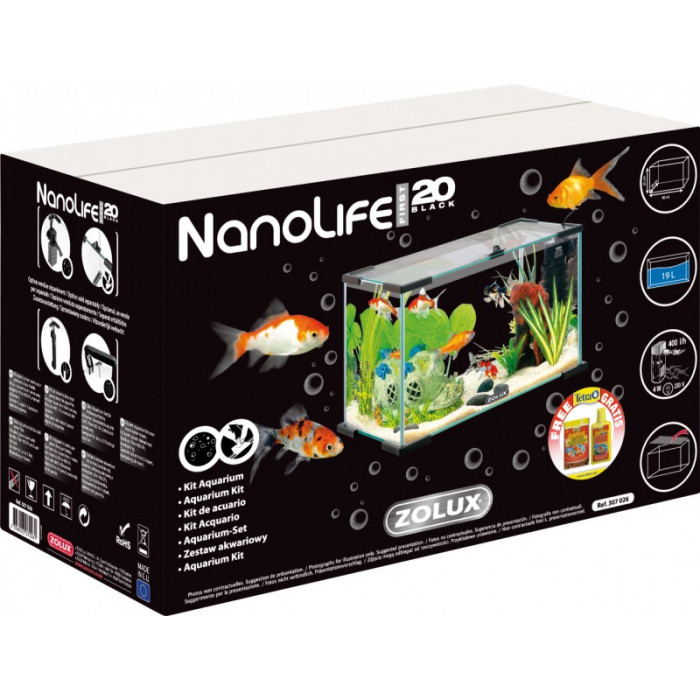 Аквариум Zolux Nanolife First