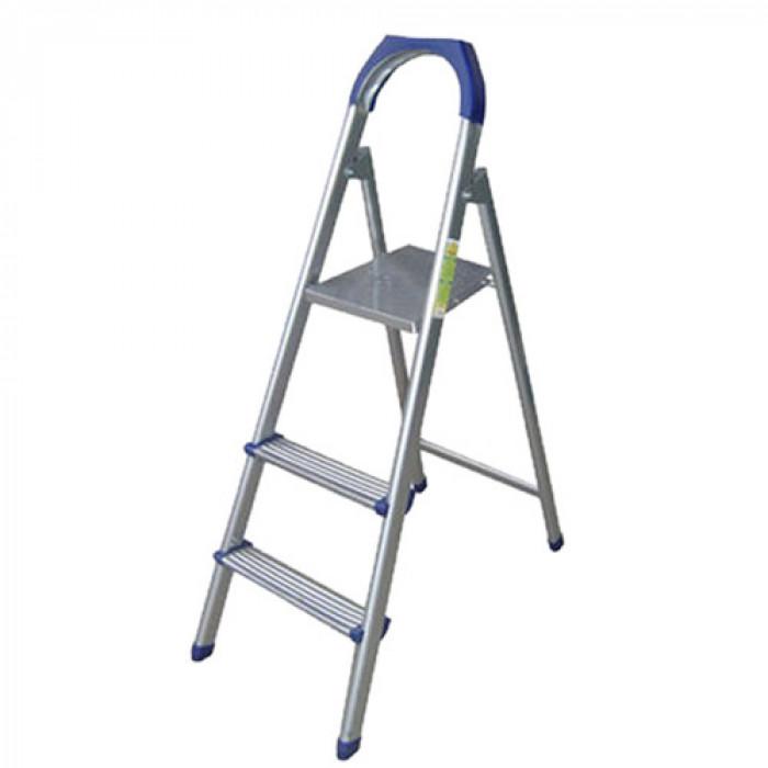 Алуминиева стълба 2+1 стъпала