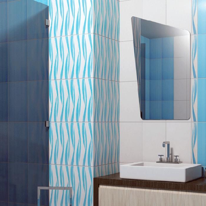 Плочки за стенна декорация / фриз 60 x 400 Амира сини