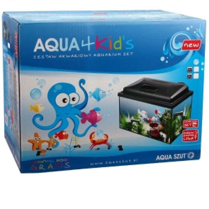 Аквариум Aqua 4 kids 40 правоъгълен 25 литра