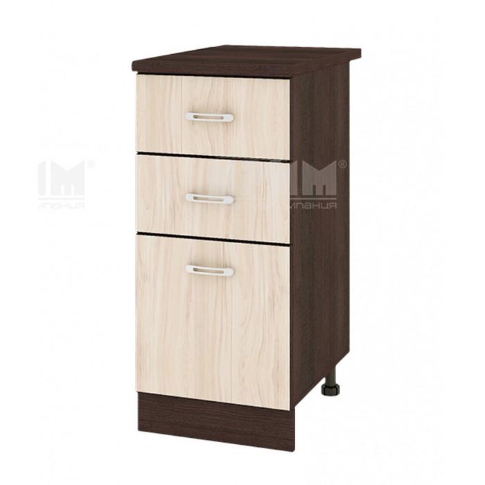 Долен кухненски шкаф City ВА-27, с термоплот