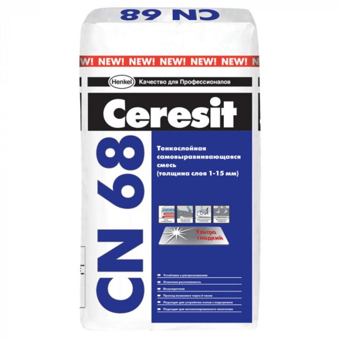 Саморазливна подова замазка Ceresit CN 68 25кг
