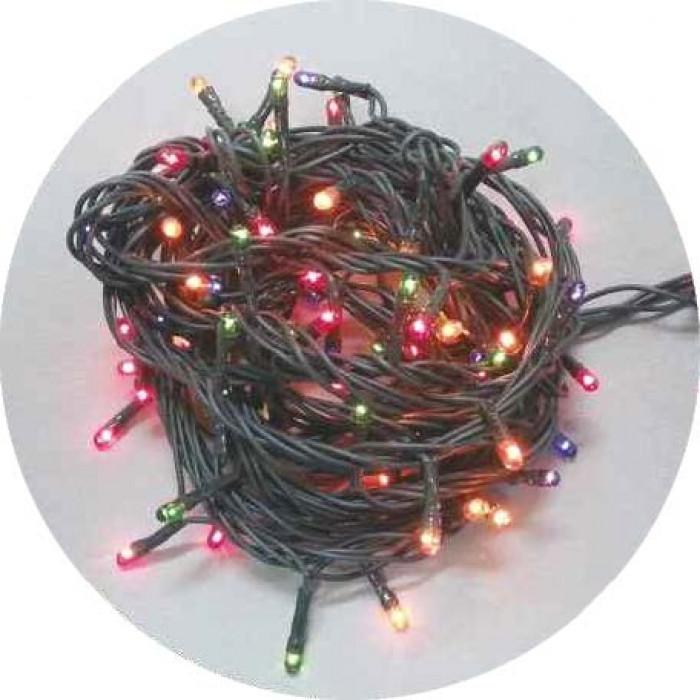 Гирлянд 40 разноцветни 5мм LED  лампички
