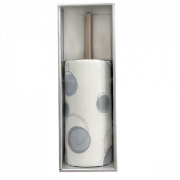 Четка wc порцелан №200е2207-сиво