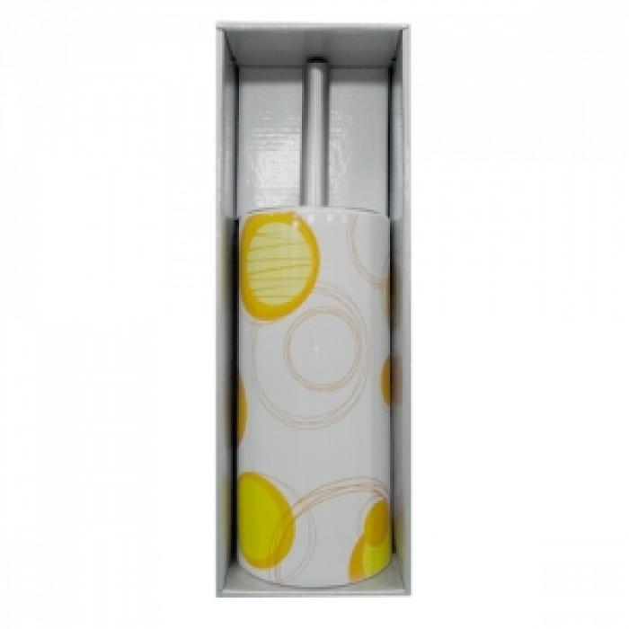 Четка wc порцелан №200е2476-оранж