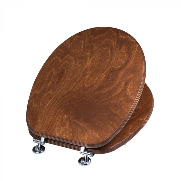 Тоалетна седалка и капак от дърво UNIVERSAL CWATANT