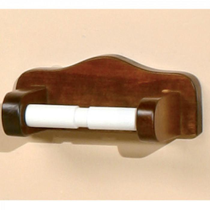 Държач за тоалетна хартия от дърво