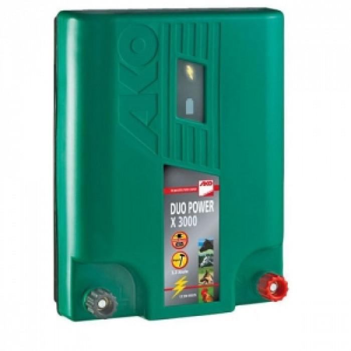 Електризатор комбиниран AKO DUO POWER X3000 12v / 220v, 2.3J