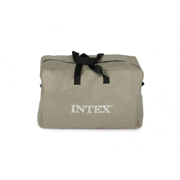 Надуваем двуместен каяк Intex Explorer K2