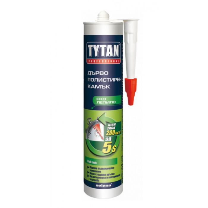 Mонтажно лепило TYTAN Fast Fix (high tack) / бяло 310 мл