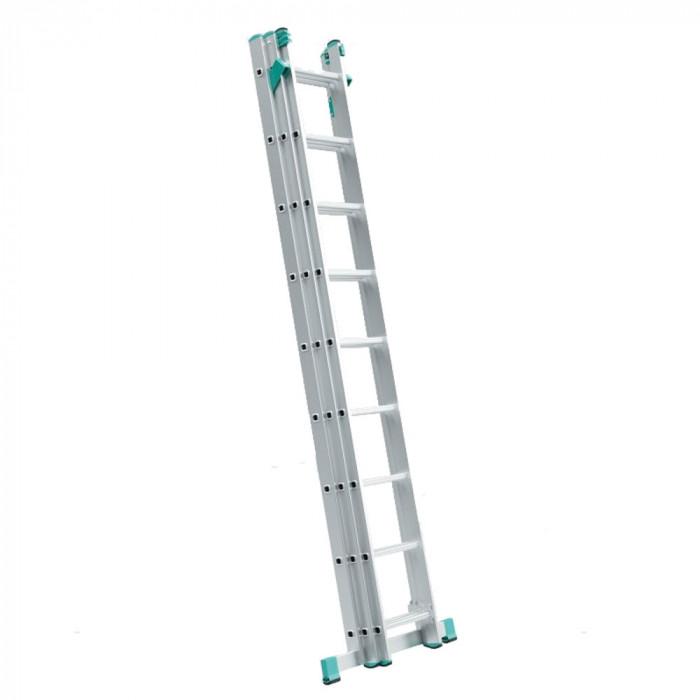 Алуминиева стълба 3 х 7 / 150кг