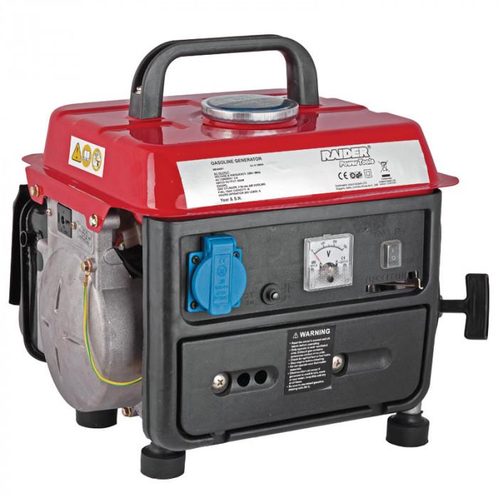 Бензинов генератор за ток двутактов RD-GG01 / 650W
