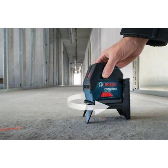 Комбиниран лазерен нивелир Bosch GCL 2-15 Professional / 15 m /  ± 0,3 mm/m