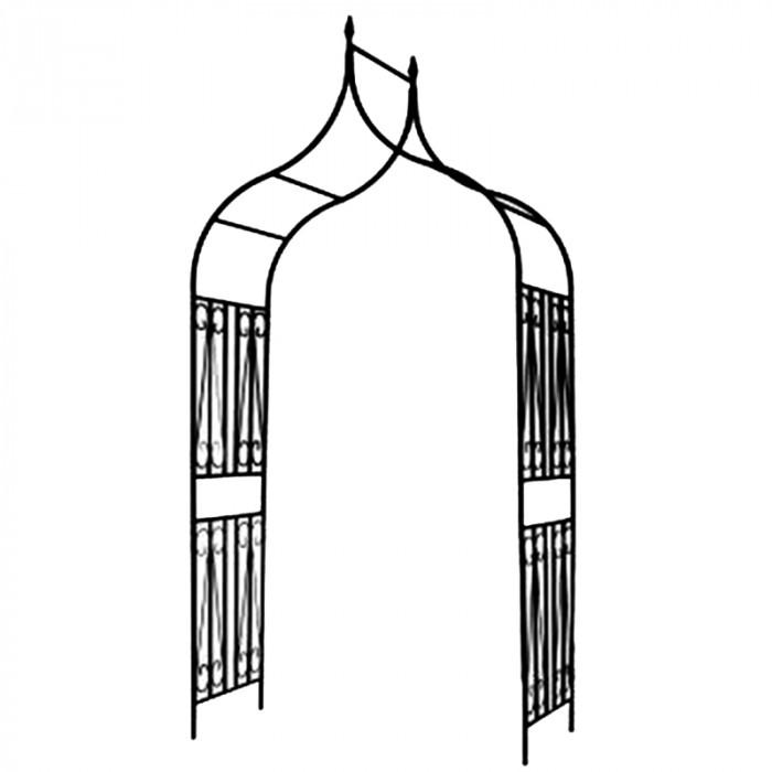 Градинска арка с орнаменти