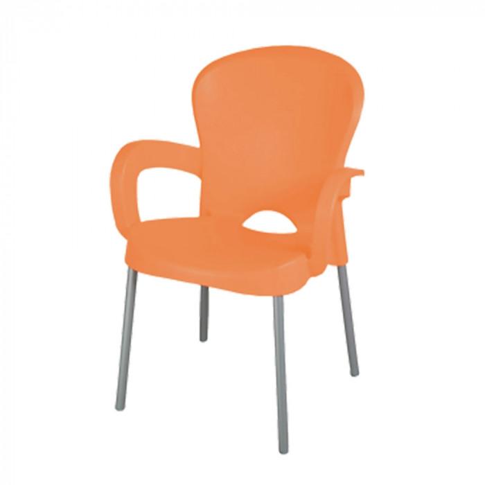 Градински стол Platin оранж