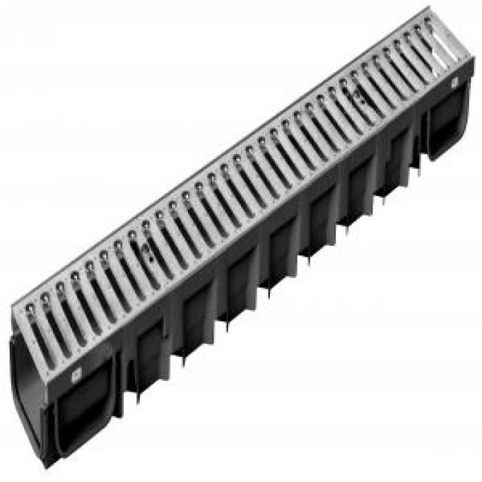 Канал SELF-LINE 100x50x1000 с поц.решетка 1.2 мм