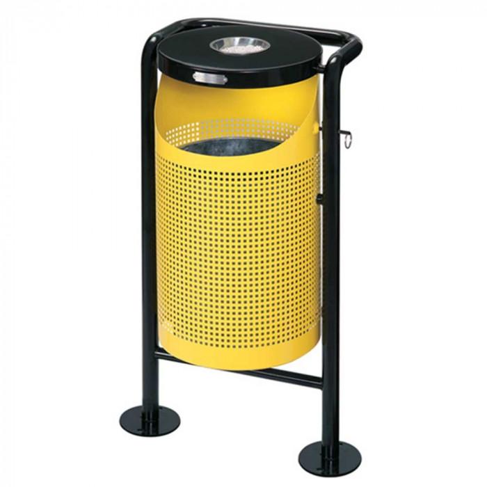 Кош стационарен жълт ЕК-94101