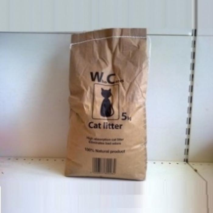 Котешка тоалетна WHO CARES 5 кг.