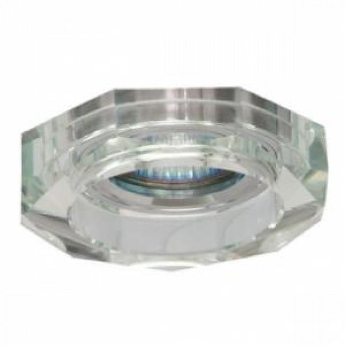 Луна за вграждане диамант MR16 кристал/бял