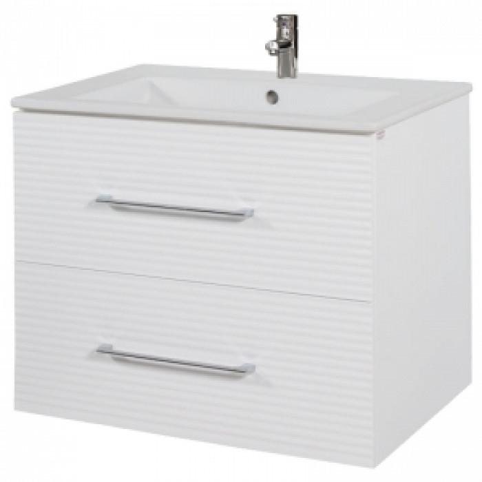 Долен шкаф за баня с мивка Макена Примадона / конзолен
