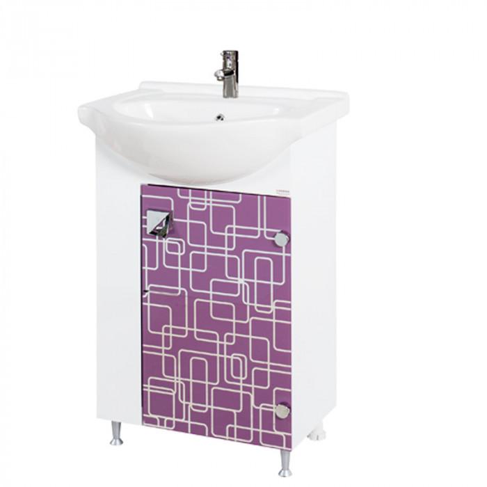 Шкаф за баня Трино, долен, цветен