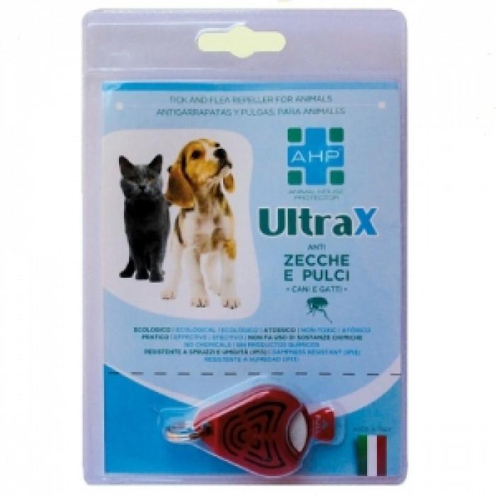 Медальон за отблъскване на кърлежи и бълхи ULTRAX
