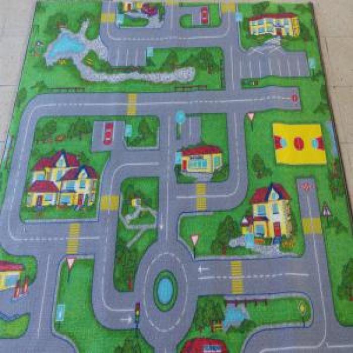 Мокетен килим хромджет сити лайф 140х200, подложка гума