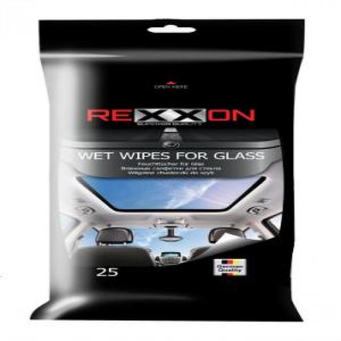 Мокри кърпи за стъкло Rexxon