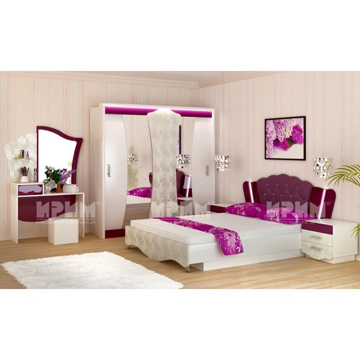 Спалня Пенелопе с еднолицев матрак Лена