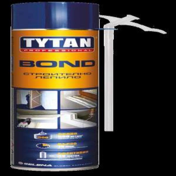 Полиуретаново лепило tytan ръчно строително 750мл