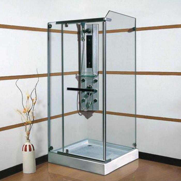 Правоъгълна душ кабина с размери 90х90х195 см