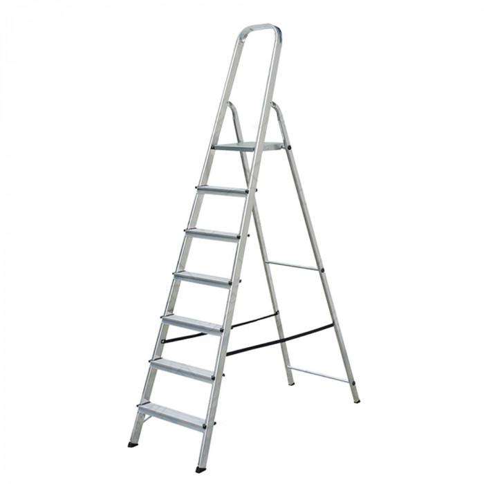 Алуминиева стълба 6+1 стъпала